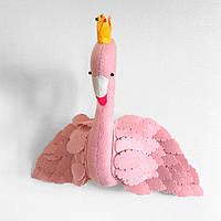 Мягкая игрушка украшение Фламинго Berni