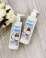 100% Натуральное Кокосовое масло для волос и тела с витамином Е с дозатором