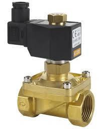 Электромагнитные клапана для воды, воздуха и пара