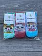 Дитячі бамбукові шкарпетки Montebello для дівчаток з ляльками ЛОЛ 1,3,5,7 років 12 шт в уп мікс 3х кольорів, фото 3