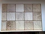Декоративные Панели ПВХ Дерево брус белый, фото 2