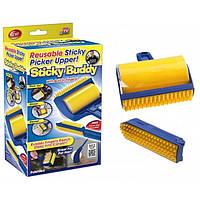 Липкие валики для уборки дома и чистки одежды Sticky Buddy