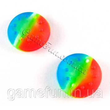 Силіконові накладки на ручки аналогів PS4/Xbox one (Разноцвет)