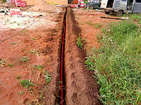 Укладання кабелю електроживлення