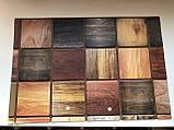 Декоративные Панели ПВХ Дерево брус мореный, фото 2