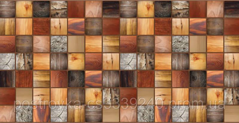 Декоративные Панели ПВХ Дерево брус мореный