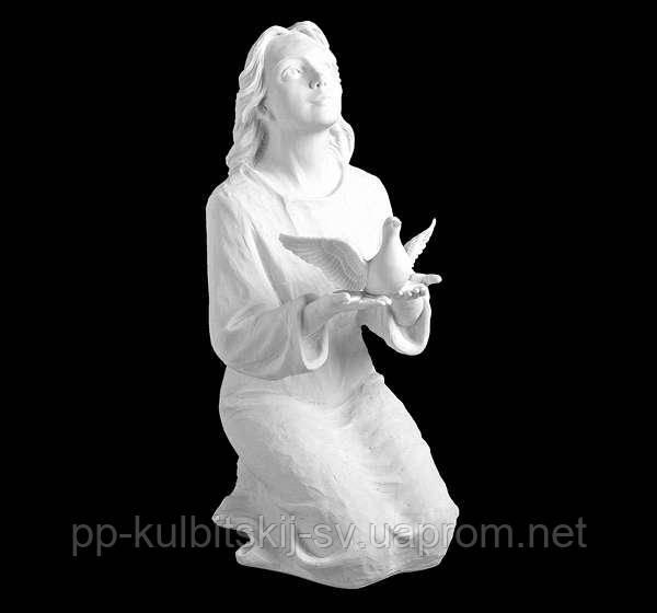 Декор для памятника скульптура Ангела  7478/б
