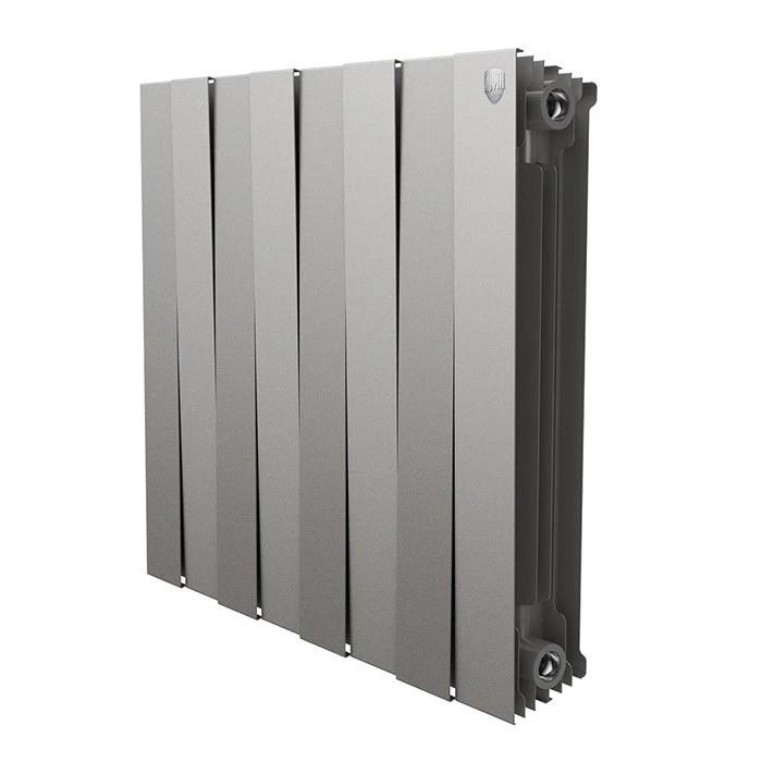 Радиатор Royal Thermo PianoForte 500 Silver Satin - 8 секц