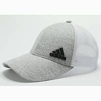 Бейсболка Adidas сетка белая