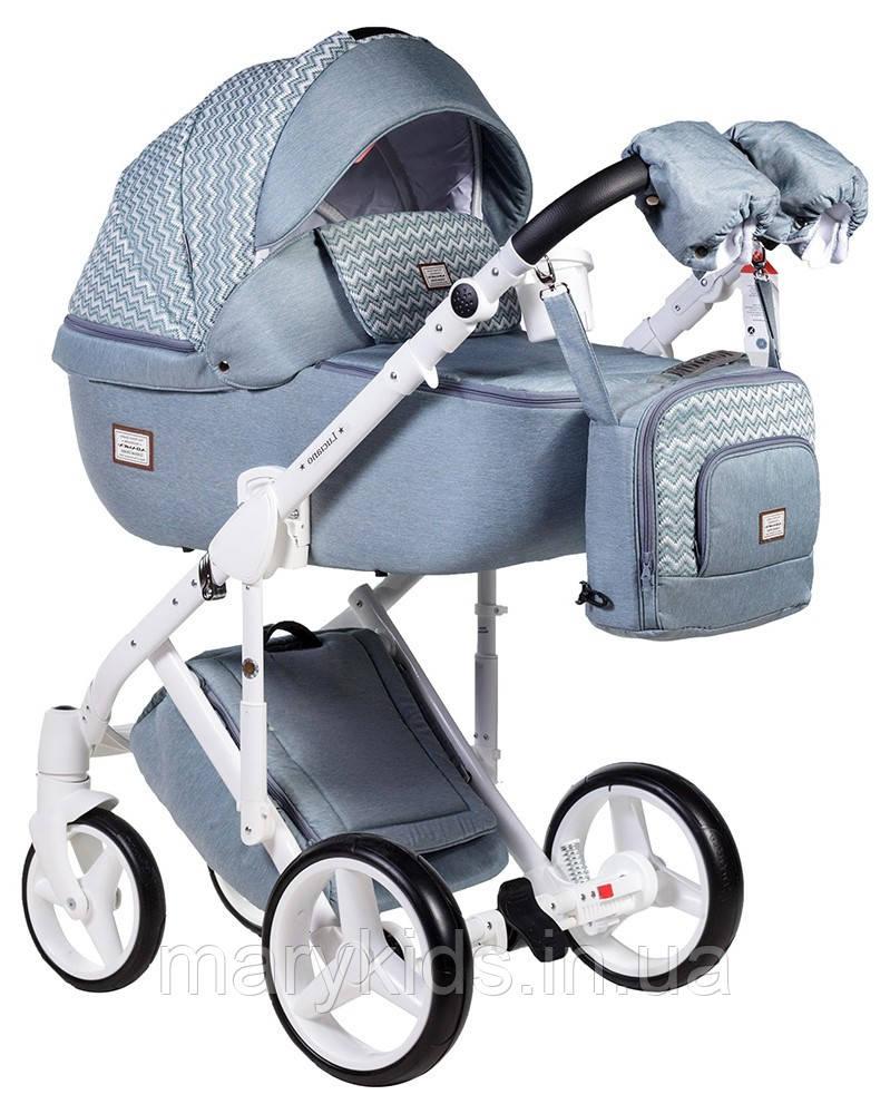 Детская универсальная коляска 2 в 1 Adamex Luciano Q-204