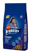 Корм Brekkies Exel (Бреккис Эксель) Cat Complet для котов (курица,тунец,овощи) на развес 1 кг