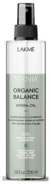 Lakme Teknia Organic Balance Hydra Oil - Двухфазный несмываемый кондиционер для всех типов волос, 200 мл