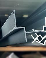 Профиль парящего потолка LED1020 под гипсокартон черный