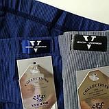 Мужские плавки в полоску с эмблемой, на вшитой резинке, Vericoh (Vericon) - качество! Мужские бамбуковые слипы, фото 2
