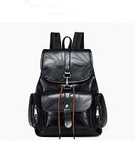 Мягкий женский рюкзак с застежкой карабин