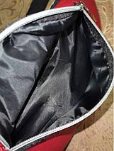 Женская поясная сумка из кожзам (бананка) серебряная Likee Лайки 1209569613, фото 3