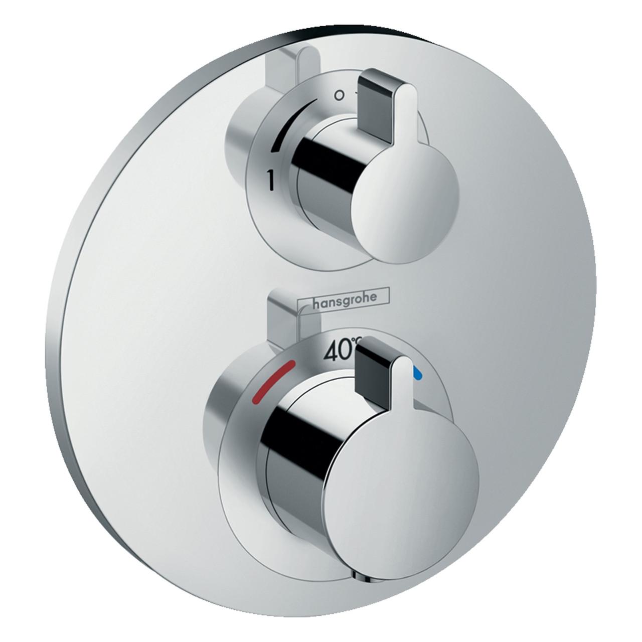 ECOSTAT S термостат з запірним/перемикаючим вентилем