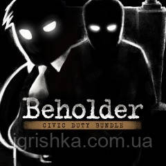 Комплект Beholder: Civic Duty Ps4 (Цифровой аккаунт для PlayStation 4) П3