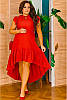 Летнее платье с асимметрией Эдельвейс 48-70рр, фото 5