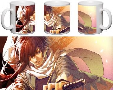 Кружка чашка Hakuouki - Сайто