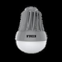 Портативная Антимоскитная лампа-светильник от комаров Noveen IKN823 LED IPХ4 - светодиодная лампа от комаров
