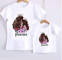 Комплект футболок мама+ дочь