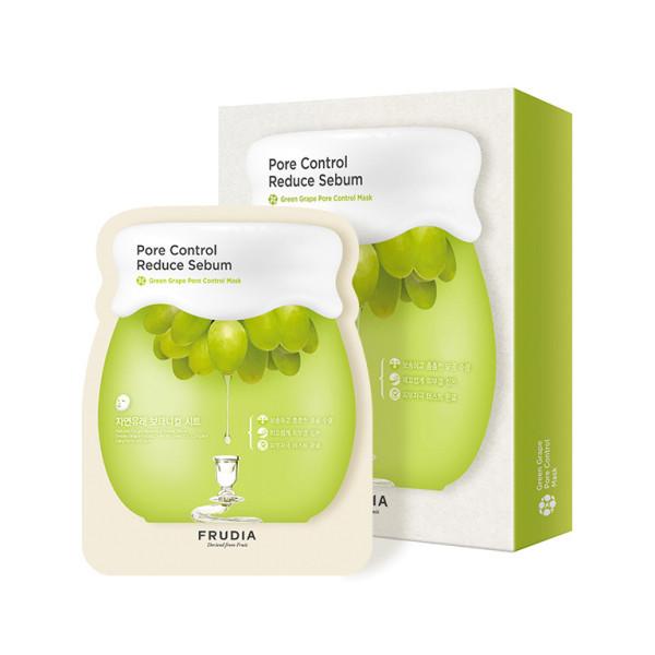 Тканевая маска с экстрактом зеленого винограда Frudia Green Grape Pore Control Mask
