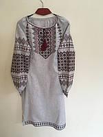 Сукня вишита в українському стилі ручної роботи 48 розмір