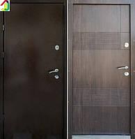 Двері вхідні Бастіон-БЦ ОФІС-МАКС Ескада-1 ПВХ-80, двері для офісу, квартири, двері броньовані, для вулиці.