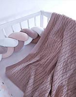 Пледик детский хлопковый летний в кроватку, фото 1