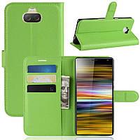 Чохол-книжка Litchie Wallet для Sony Xperia 10 Green Plus