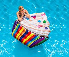 Надувной пляжный матрас Кекс Intex 58770