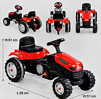 Детский веломобиль - трактор «Pilson» 07-314 Red