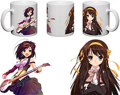 Кружка чашка Haruhi - Харухи Судзумия