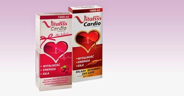 Витамины Vitalsss Plus Cardio 1000 мл