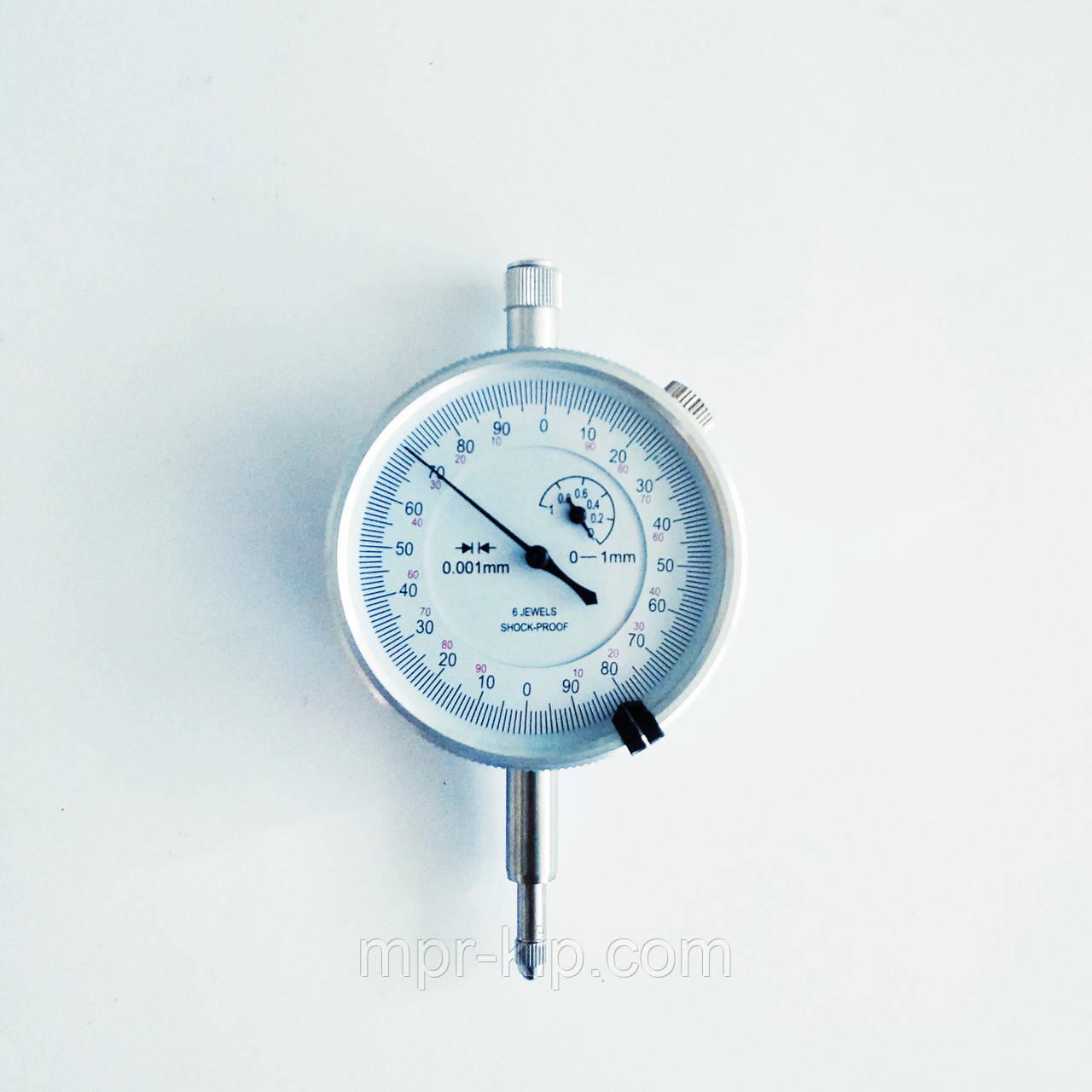 Індикатор годинникового типу KM-113-60S-1(0-1/0.001 мм) без вушок