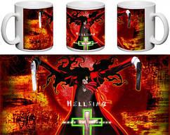 Кружка чашка  Hellsing - Алукард