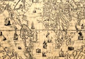 Бумага крафт карта