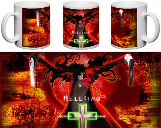 Кружка чашка  Hellsing ― Алукард