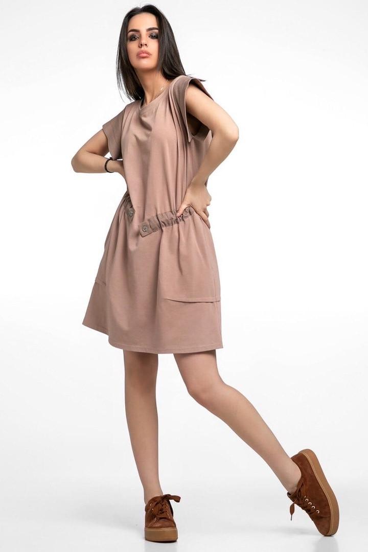 Летнее женское хлопковое платье