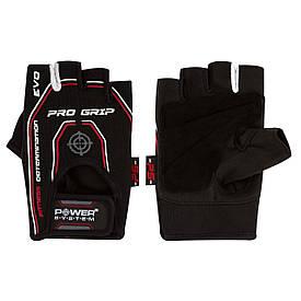 Рукавички для фітнесу і важкої атлетики Pro Grip EVO Power System PS-2250E, чорні