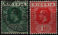 Нигерия Nigeria 1914 год