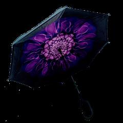Умный зонт наоборот Up-brella. Зонт обратного сложения  цвета микс