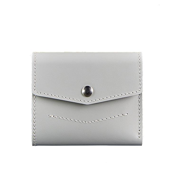 Женский кожаный кошелек Blanknote 2.1 Серый