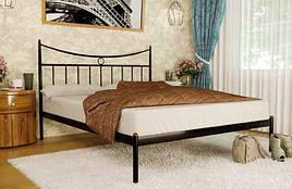 Кровать металлическая Париж фабрика Метакам