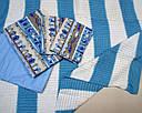 Постельное белье + плед Мореход, фото 2