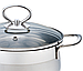 Кастрюля с крышкой из нержавеющей стали Maestro MR-3508-26 (7 л) | набор посуды Маэстро | кастрюли Маестро, фото 2