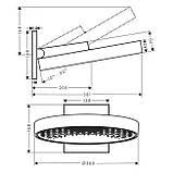 RAINFINITY верхний душ 360 1jet с настенным соединителем, фото 2