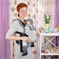 Слинг-рюкзак TOPA-TOP Toddler Checkmate