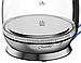 Стеклянный электрочайник Maestro MR-054 (1.7 л, 2200 Вт, подсветка) | электрический чайник Маэстро, Маестро, фото 3
